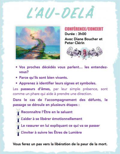 1- Conference-concert - Au Dela