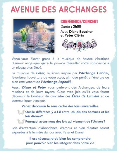 2- Conference-concert - Avenue des Archanges