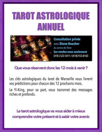 2- Consultations avec Diane Boucher Tarot astrologique