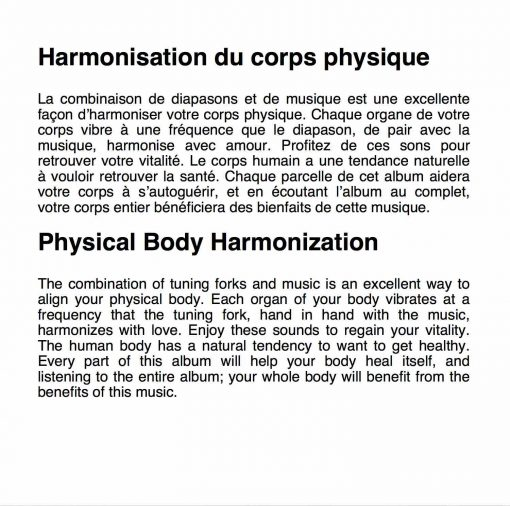 Harmonisation-du-corps-physique / Physical Body Harmonization