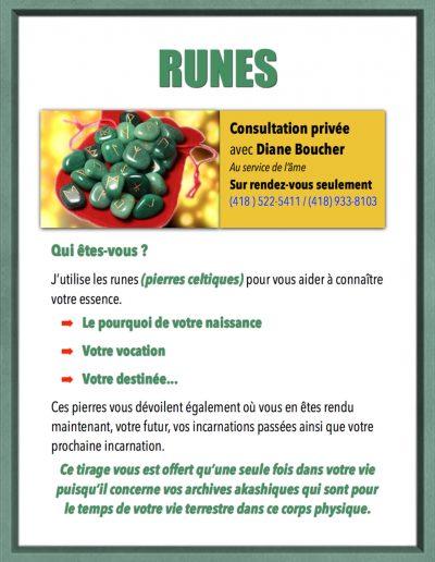 4- Consultations avec Diane Boucher Runes