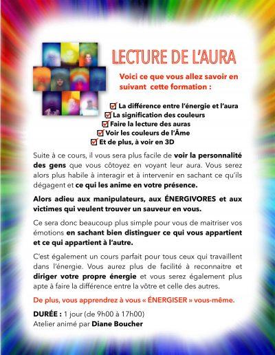 ATELIER LECTURE DE L-AURA