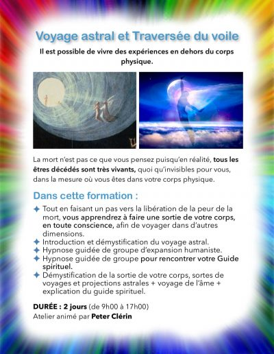 Atelier Voyage astral