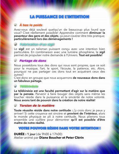 PUISSANCE DE L-INTENTION